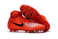Бутсы Nike Magista Obra 2 FG University Red 2017