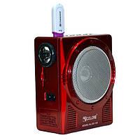 Портативный радиоприемник с фонарем GOLON RX-129 fm радио
