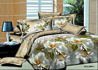 Полуторный набор постельного белья Ранфорс platinum №2023