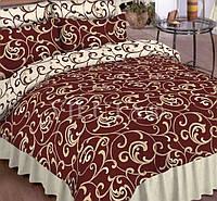 Полуторный набор постельного белья Ранфорс platinum №5400