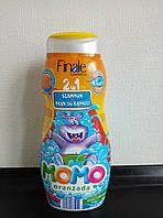 Детский шампунь-гель Finale Momo,апельсин 500ml.