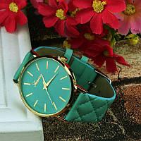 """Часы наручные женские  """"Geneva classic"""" бирюзовые"""