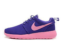 Женские кроссовки Nike Roshe Run  II Lite Pink Purple, фото 1