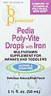 Pedia Poly-Vite Drops 50 mL  с железом мультивитамины для самых маленьких, фото 2