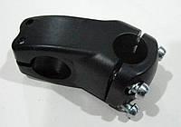 Вынос для руля алюминиевый, длина 40мм, цвет:черный