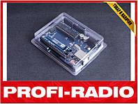 Корпус, кейс для Arduino Uno R3, прозрачный тонкий