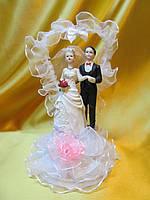 """Свадебная фигурка """"Сердце"""". Высота: 16см."""