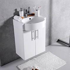 Тумба с умывальником Fancy Marble Ibiza 50 (ШН-512) (Белый)