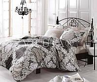Двуспальный набор постельного белья Ранфорс platinum №9293