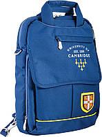 Рюкзак подростковый ортопедический ТМ 1 Вересня CA 052, синій, 27*41*11, фото 1