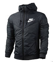Виндранер, ветровка, куртка весенняя, осенняя! Windrunner Nike Черный