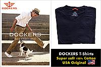 Dockers футболка.100% хлопок. Цвет Black. Оригинальная продукция из США (Размер XL)
