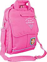 Рюкзак подростковый ортопедический ТМ 1 Вересня CA 052, рожевий, 27*41*11, фото 1