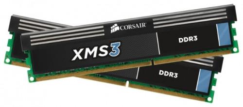 """Память Corsair DDR3 8GB(4GBX2) 1600MHz DIMM CMX8GX3M2A1600C9 """"Over-Stock"""" Б/У"""