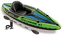 Надувная байдарка Challenger K1 Kayak Intex 68305