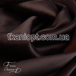 Ткань Атлас королевский (шоколад)