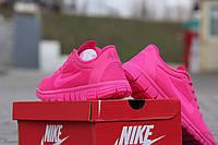 Женские кроссовки Nike Free Run 3.0 🔥  (Найк Фри Ран) Розовые