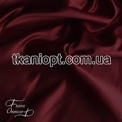 Ткань Атлас прокатный (бордовый)