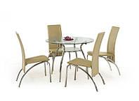 Стеклянный обеденный стол ADAM (Halmar)