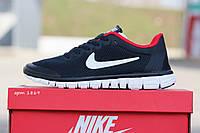 Женские кроссовки Nike Free Run 3.0 🔥  (Найк Фри Ран) Черные с красным