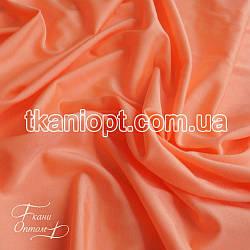 Ткань Бифлекс блестящий (персик)