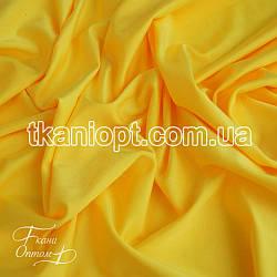 Ткань Бифлекс блестящий (желтый)