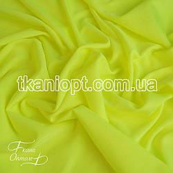 Ткань Бифлекс блестящий (лимонно-салатовый)