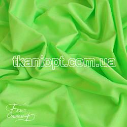 Ткань Бифлекс блестящий (неон-салатовый)