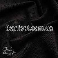 Ткань Вельвет черный