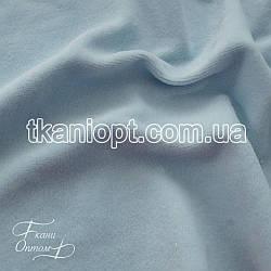Ткань Велюр хб (бледно-голубой)