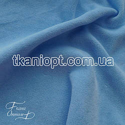 Ткань Велюр хб (голубой)