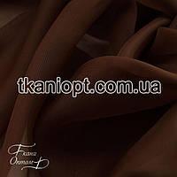 Ткань Вуаль - шифон ( коричневый )