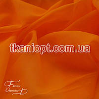Ткань Вуаль - шифон ( оранжевый )