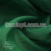Ткань Вуаль - шифон (изумруд)