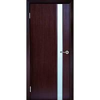 Двери межкомнатные Милано-1 ПО венге (Галерея дверей)