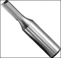 Фреза пазовая однозубая WPW Израиль D6,3-B25-L57-Z1-d6