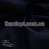 Ткань Вуаль - шифон (темно-синий)