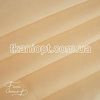 Ткань Вуаль - шифон крем (УЦЕНКА)