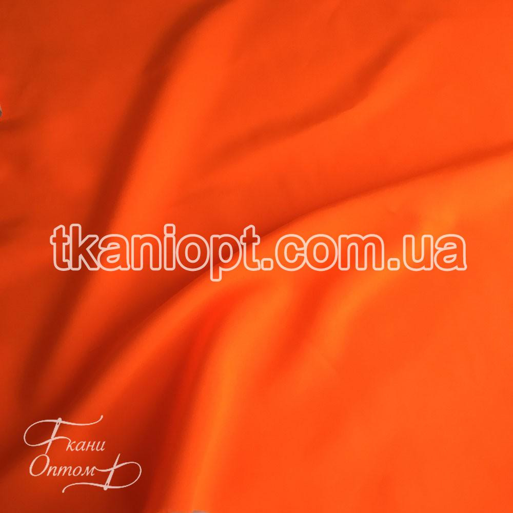 Ткань Габардин (кислотно-оранжевый)