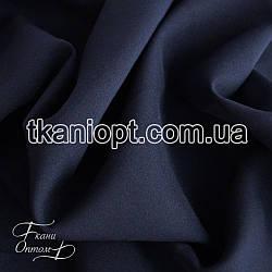 Ткань Габардин (темно-синий)