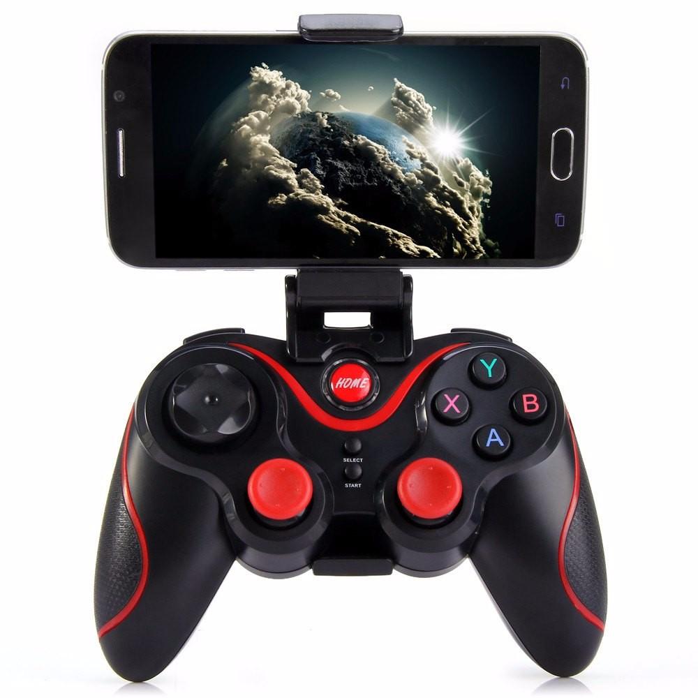 Bluetooth джойстик геймпад Териос S3, Terios S3 черный