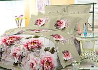 Полуторный набор постельного белья Ранфорс platinum №9952