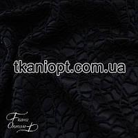 Ткань Гипюр на атласе