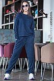 Лёгкий спортивный костюм  цвет синий 44-46, фото 3