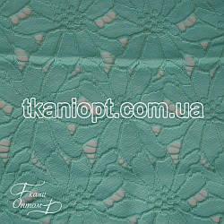 Ткань Гипюр макраме (мята)