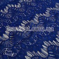 Ткань Гипюр реснички ( электрик )