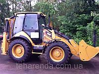 Аренда экскаватора погрузчика CAT 434F