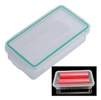 Герметичный BOX, Бокс,холдер,коробочка для аккумуляторов 2 x 18650