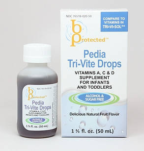 Pedia Tri-Vite Drops 50 mL витамины  A, C, D для самых маленьких