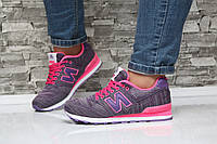 Женские кроссовки New Balance, обувной текстиль, фиолетовый / кроссовки для девочек, обувь весна, модные 37